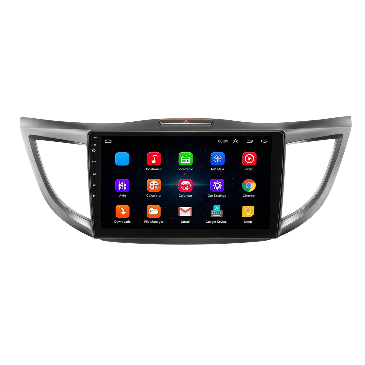 10.1 Inch 2 DIN For Android 8.1 Car Stereo Radio Quad Core 1+16