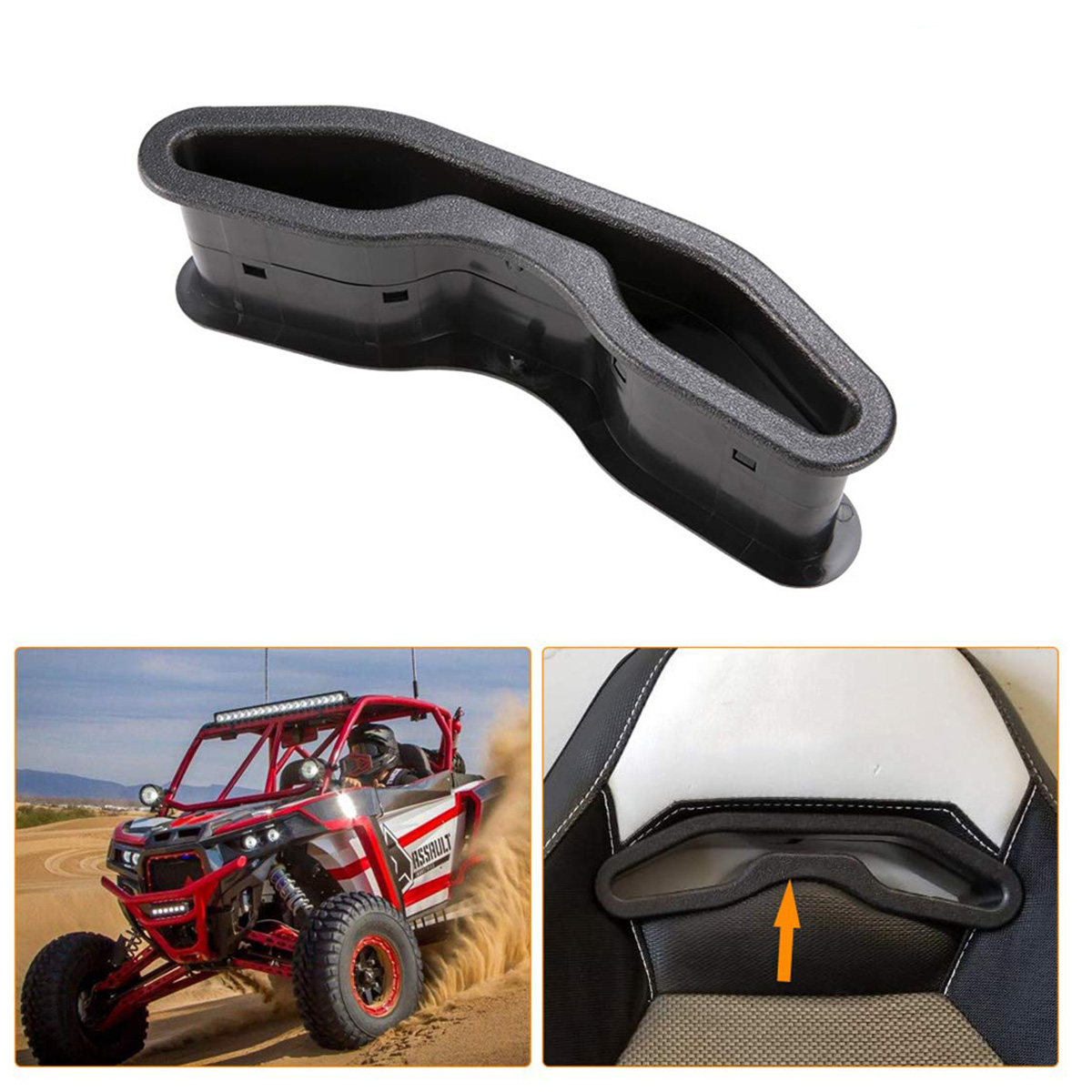 Harness Seat Pass-Through Bezel For Polaris RZR XP1000 900 S XC