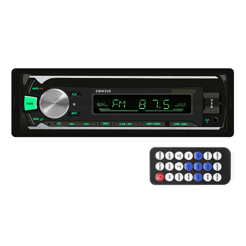 bluetooth Auto Radio Car Stereo Radio FM Aux Input Receiver TF U