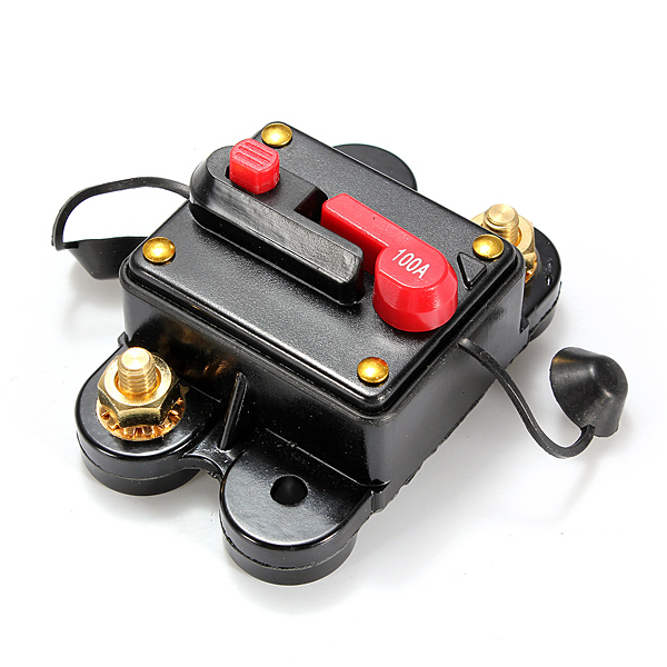 100A Car Marine Boat Bike Stereo Audio Inline Circuit Breaker Fu