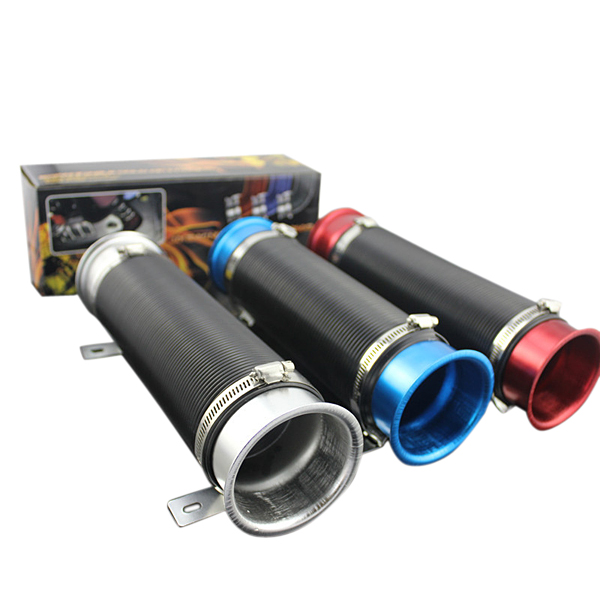 Car Flexible Extensible Air Intake Inlet Pipe Hose for Refit