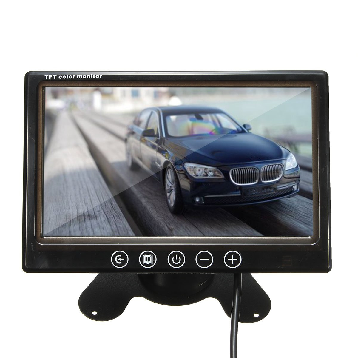 7 Inch TFT LCD Colour CCTV Car Security DVR Camera Reverse Backu