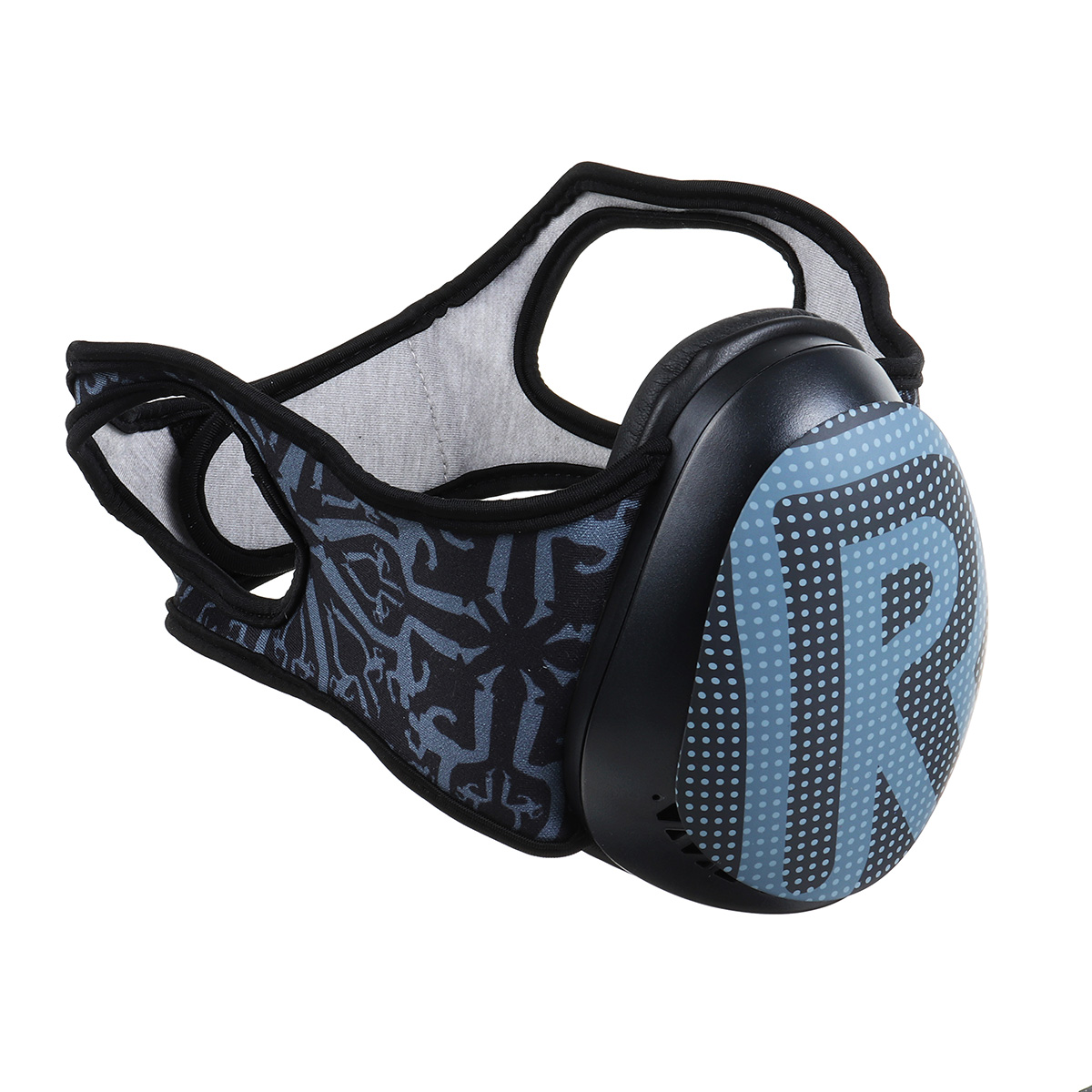 3D PC Anti Fog Haze Dust Face Mask Memory Foam Protein Leather M