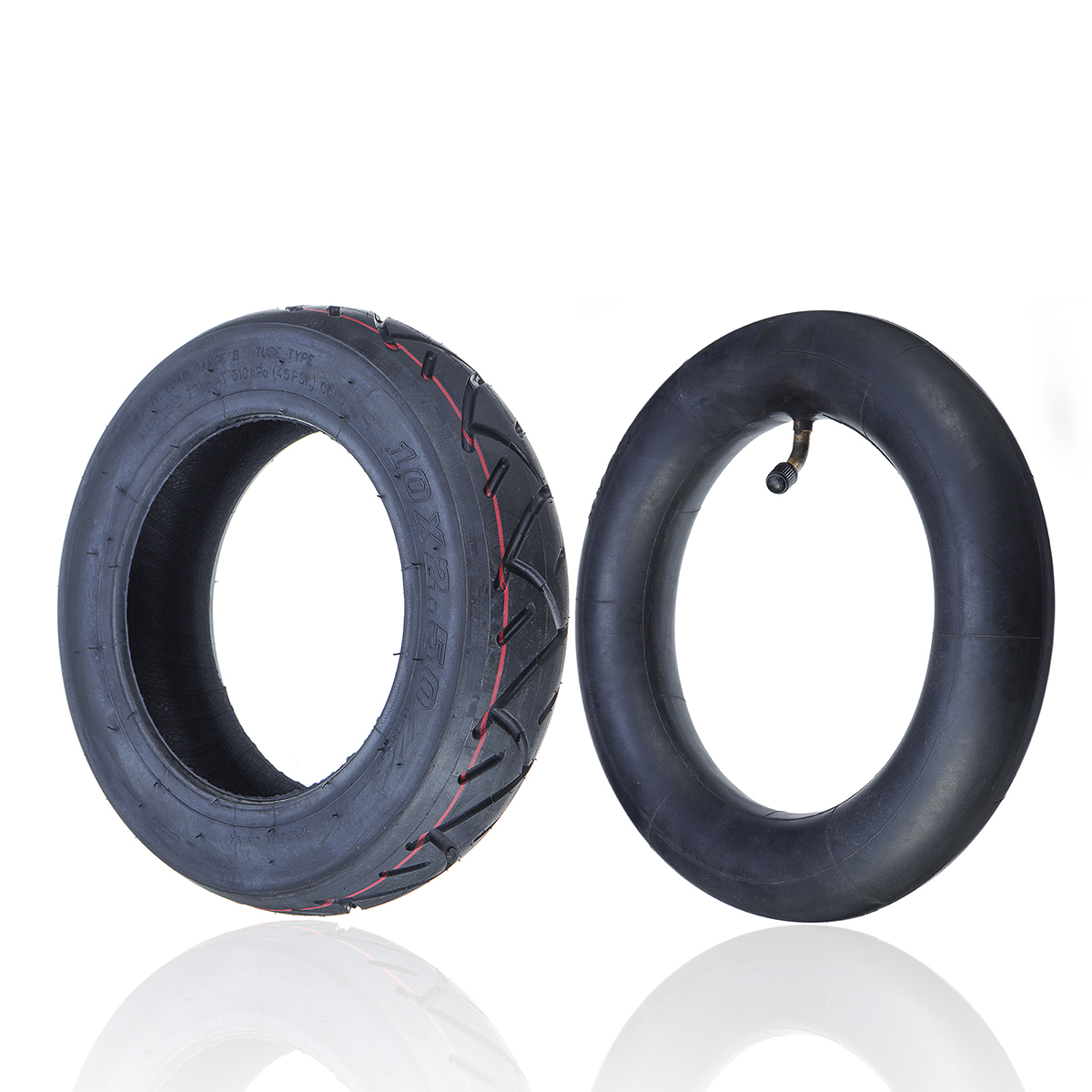 10''X2.5'' Outer Tire/Inner Tube For Inokim Quick & Inokim OX El