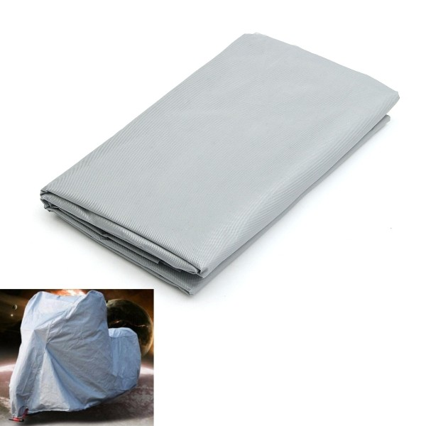 230x130cm Silver Rain Cover Motorcycle Protector Waterproof Dust