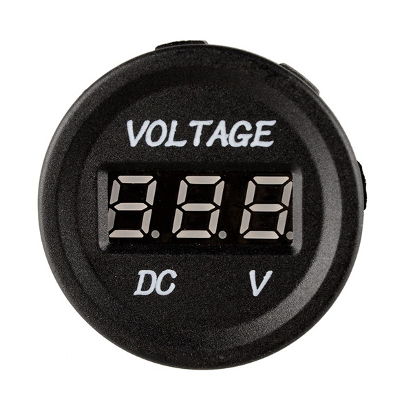 12-24V Car Volt Meterr Truck Motorcycle Voltage Display General