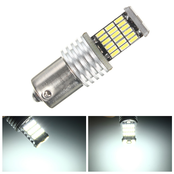 1156 BA15S P21W 7507 4014-SMD LED White LED Bulbs for Turn Signa