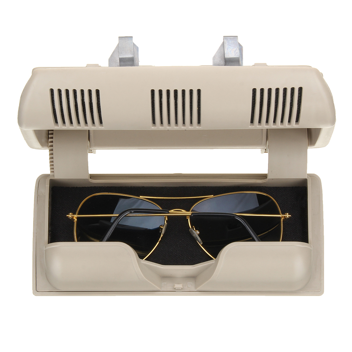 Car Glasses Box Holder Sunglasses Case Plastic Storage Box for S