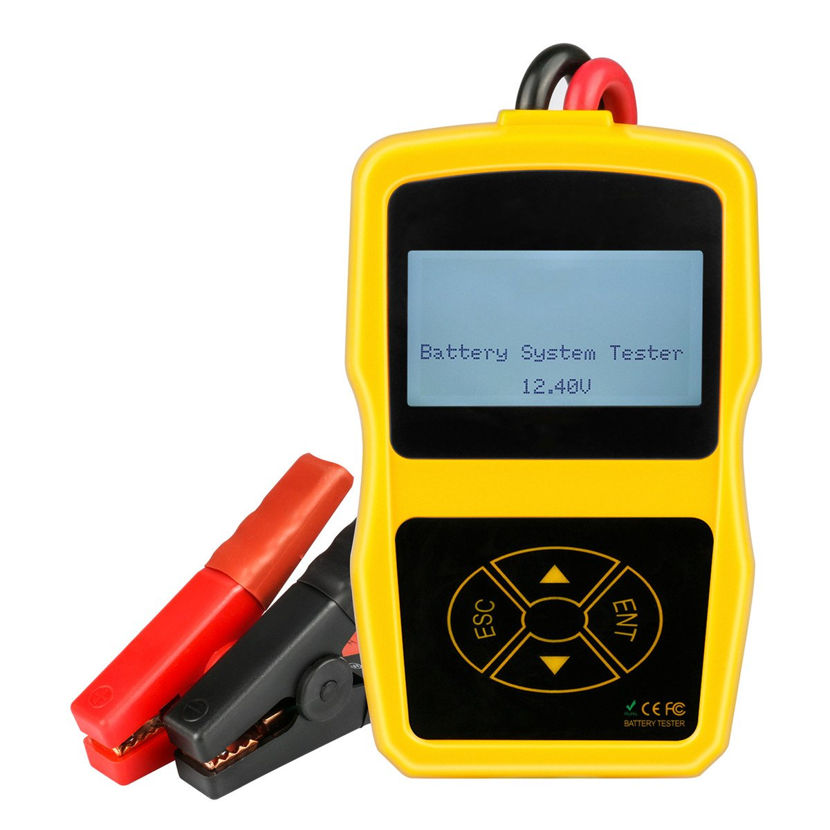 12V ABS 2.4 Inch Car Battery System Tester Power Measure Meter A