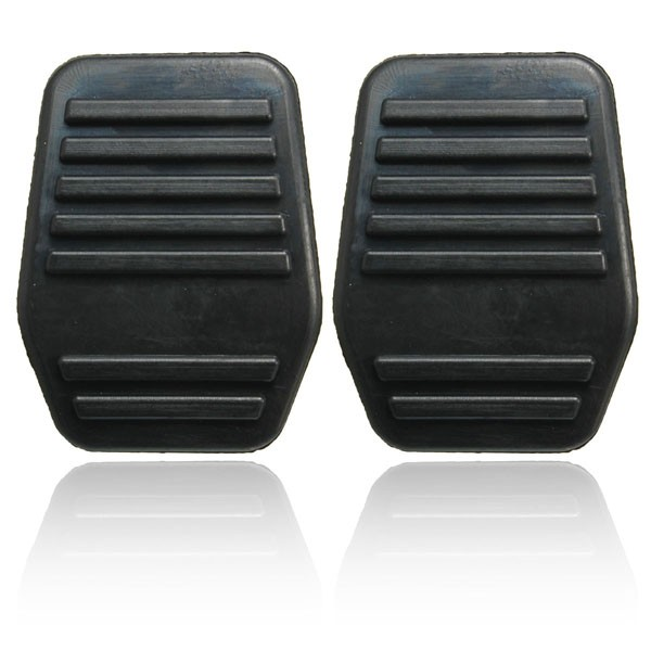 A Pair of Pedal Pads Rubber Cover For Ford Transit MK6 MK7 2000-