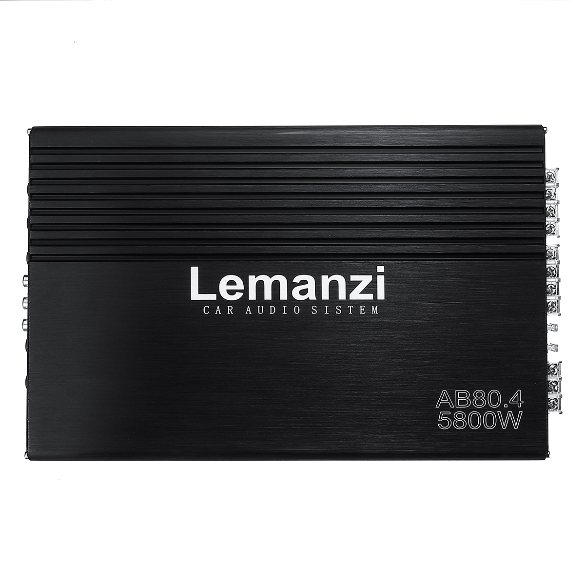 5800W 12V High Power Four-way Amplifier Car Amplifier HiFi Audio
