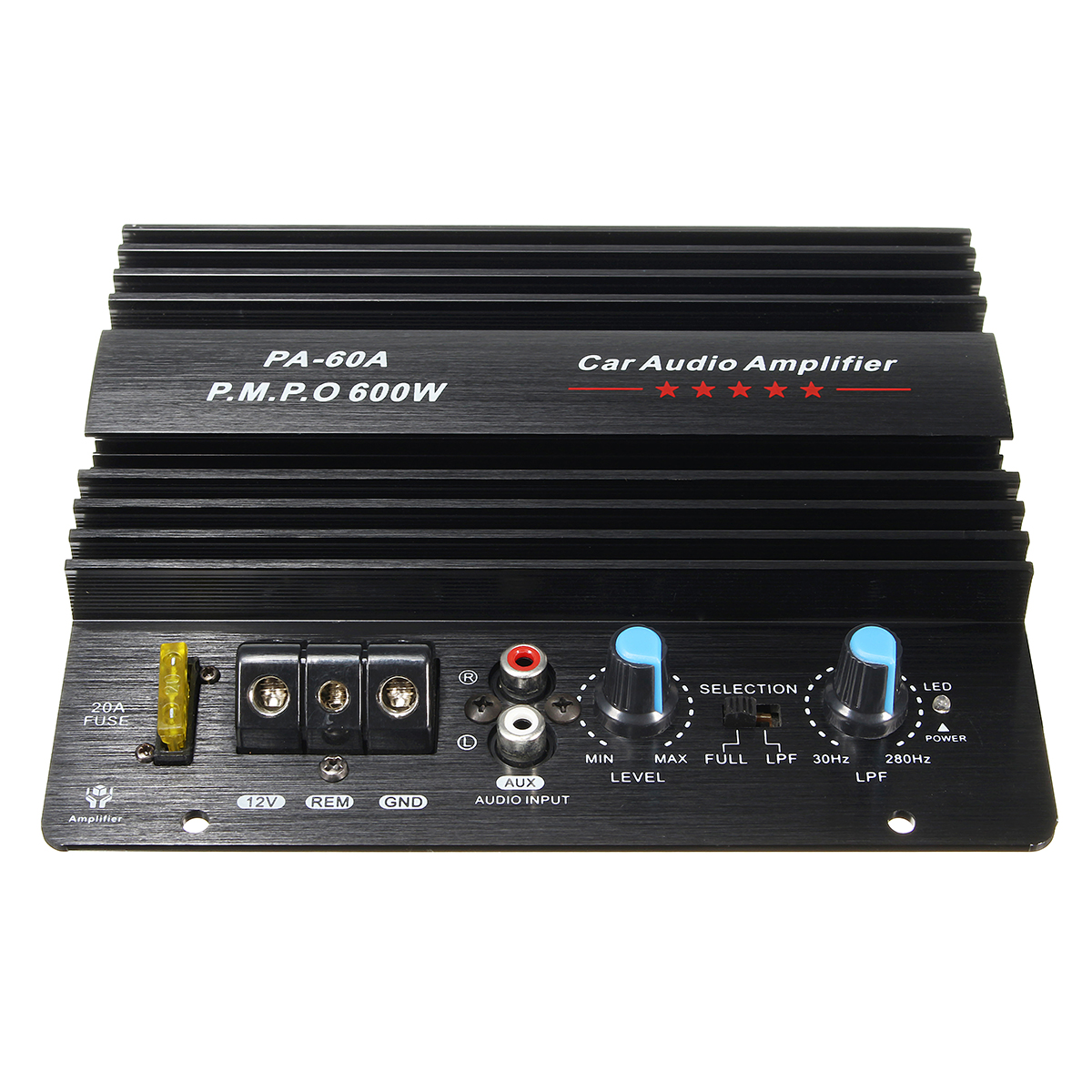 12V 600W High Power Audio Momo Amplifier Board Car Bass Subwoofe
