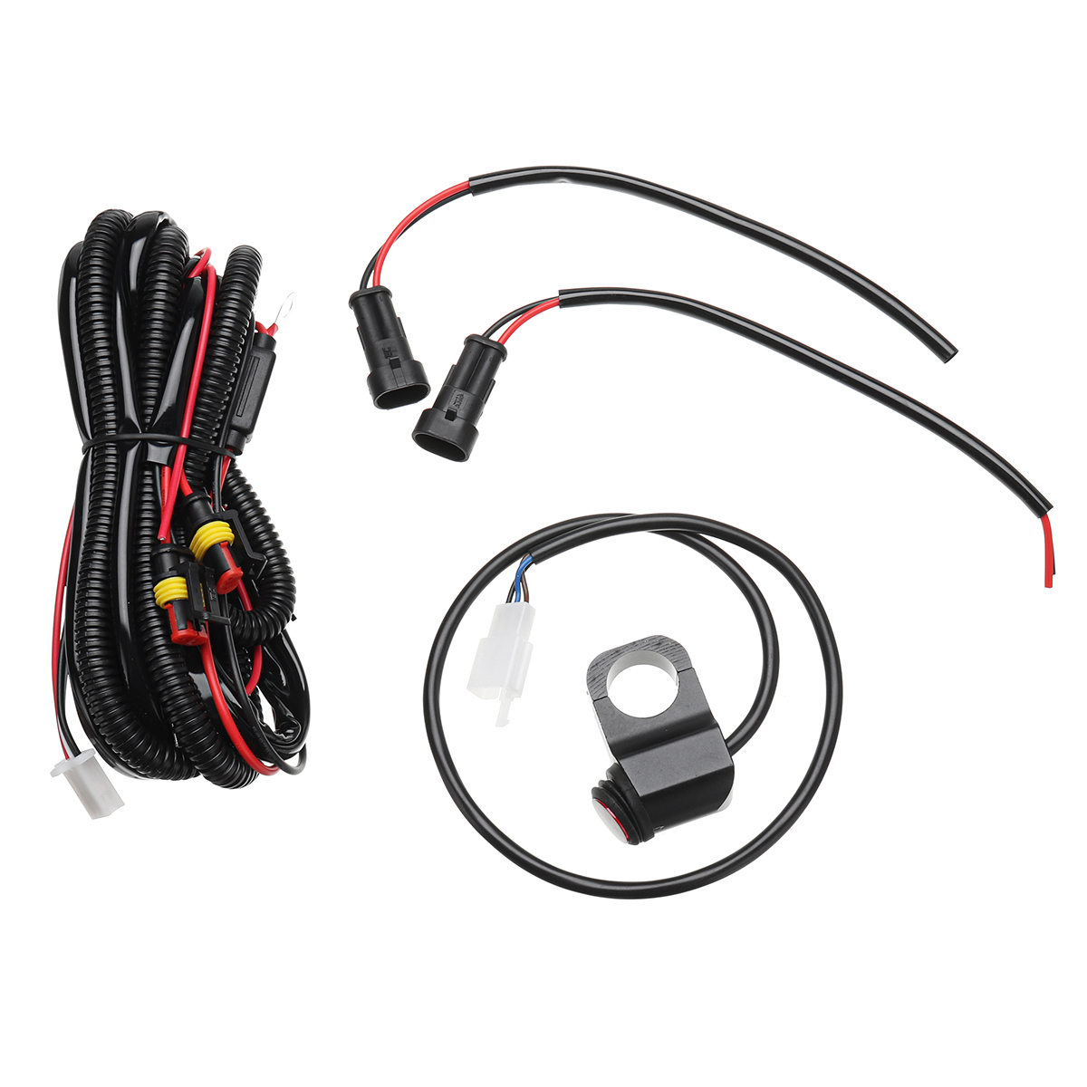 10A Relsy Switch Fog Light / Spot Wiring Loom Harness Kit  For M