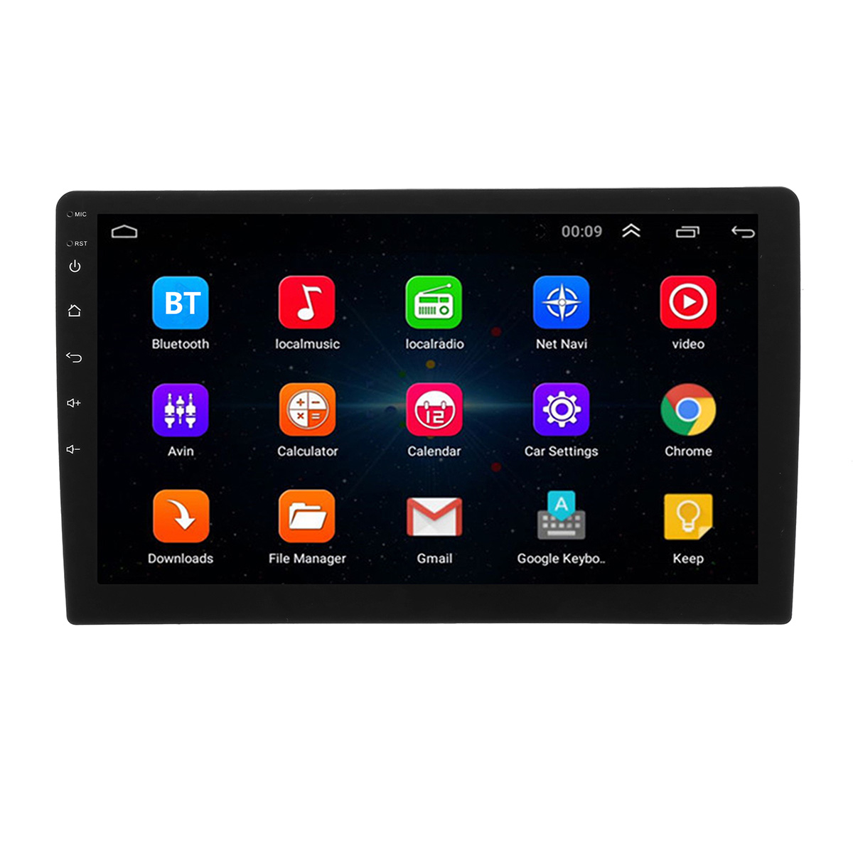 10.1 Inch Android 8.1 Car Stereo Radio MP5 Player HD Touch Scree