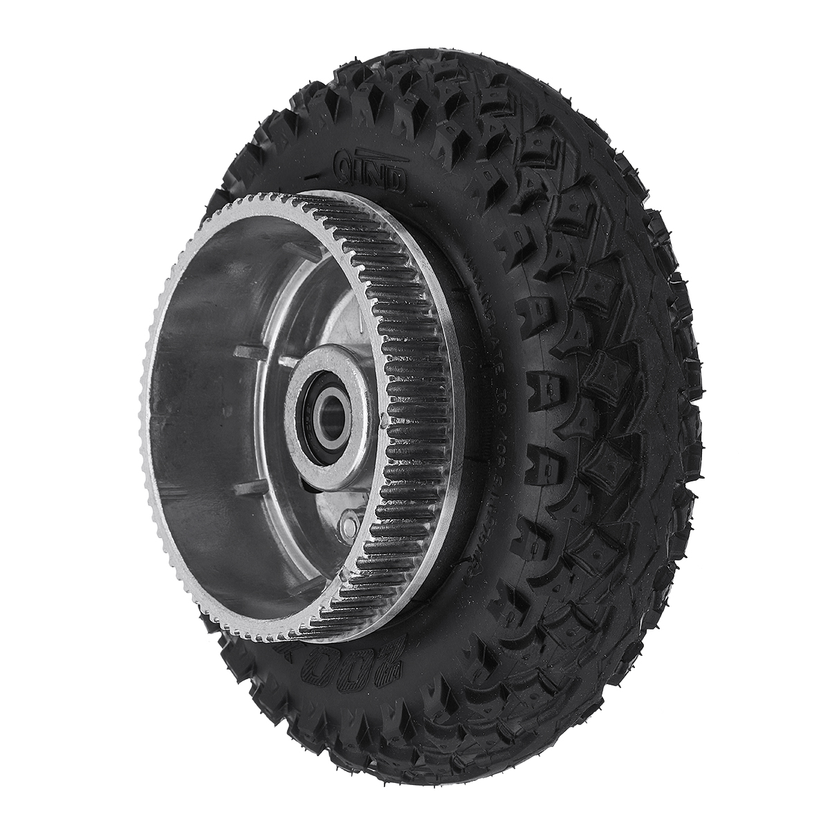 200*50mm Inflatable Longboard Off Road Gears Wheel For Electrica