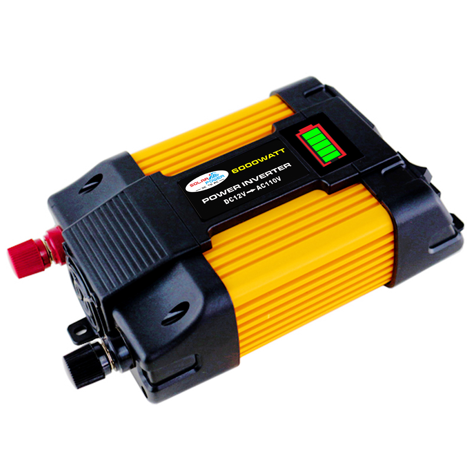 6000W Peak Power Inverter 12V-220V/110V Modified Sine Wave Car C