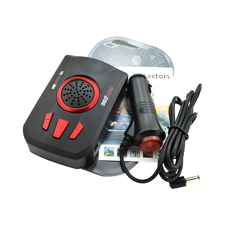 Universal Car Radar M8 Full Band Scanning Radar Voice Alert Warn