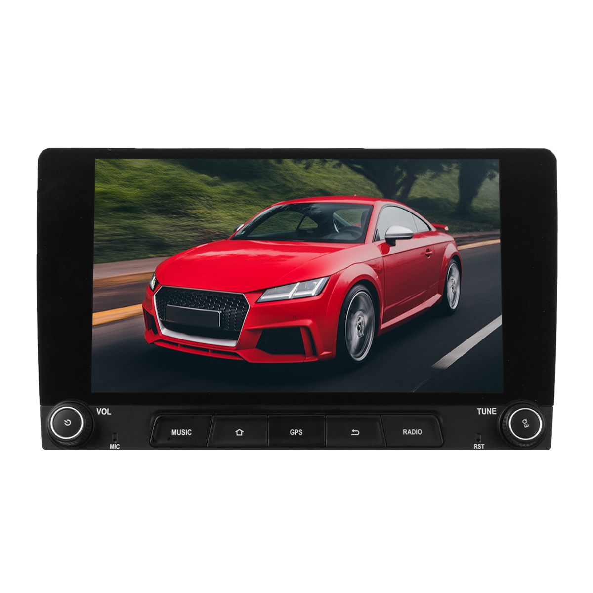 10.1 Inch 2DIN for Android 8.1 Car Stereo Radio MP5 Player Quad