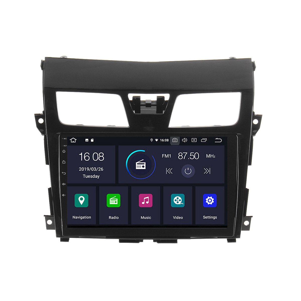 10.1 2 Din Car Radio Stereo MP5 Player Android 6.0 bluetooth GPS