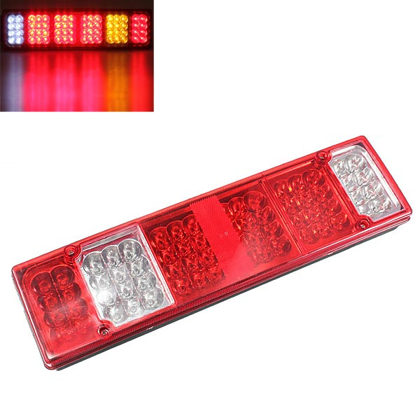 52LED Trailer Caravan UTE Boat Truck Rear Tail Indicator Light 1