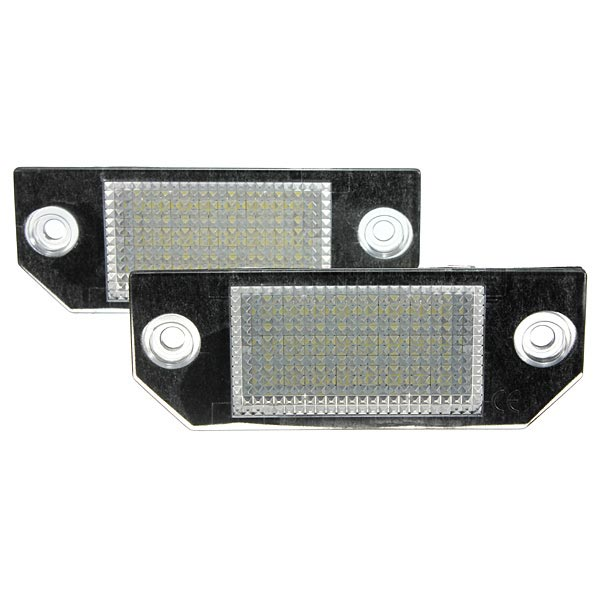 2x 24LEDs License Number Plate Light Lamps for Ford Focus C-MAX