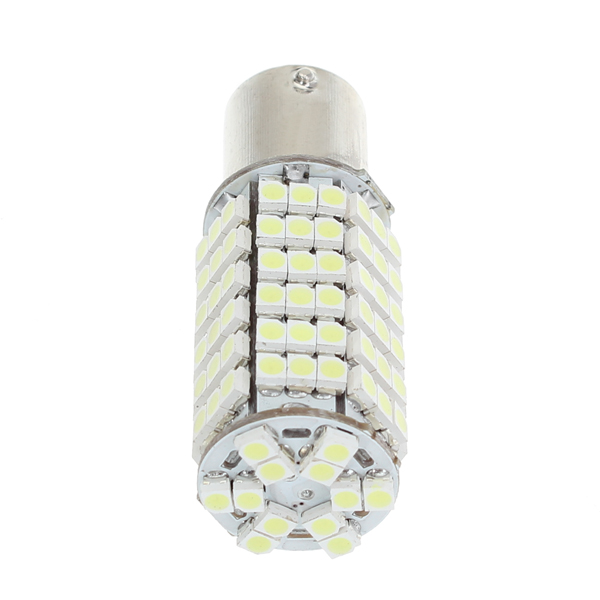 12V 9W 3528 102PCS LED Car Light Bulb White+Warm White