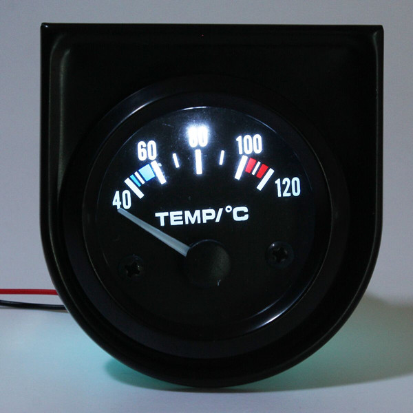 2Inch 52mm Universal Car Pointer Water Temperature Temp Gauge 40