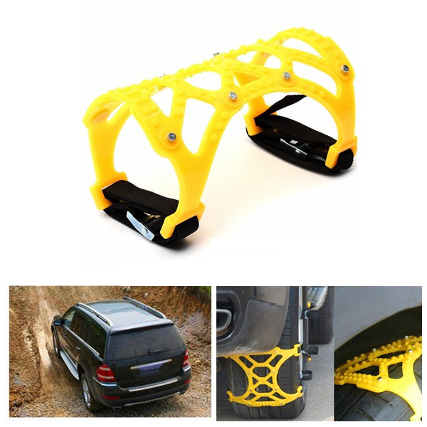 165-265mm Tire Anti Skid Belt Snow Chain Dual Hook for Car SUV T