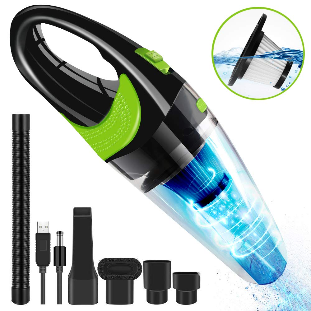 120W 12V 6500Pa 2700mAh Car Home Vacuum Cleaner