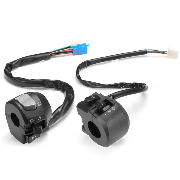 12V 22mm 7/8inch Electric Start Switch For Motorcycle Horn Turn