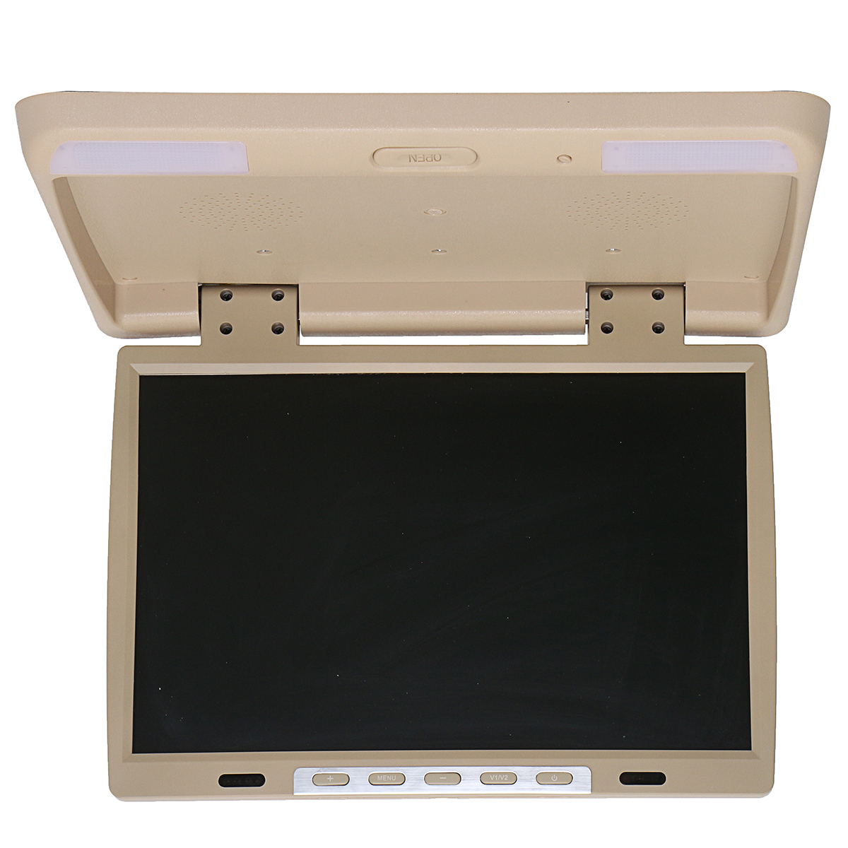 15.4 Inch Car DVD Player HDMI TFT LCD DVD Roof Mount In Car Flip