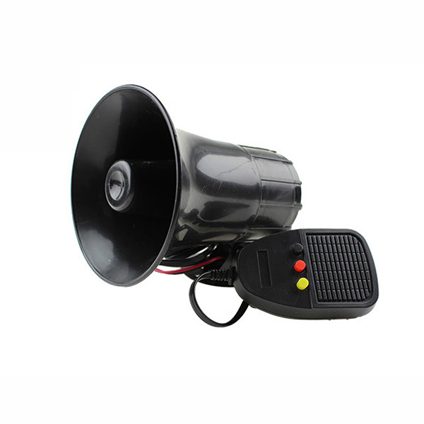 JC-1076 12V Car Motorcycle Three-tone Loudspeaker