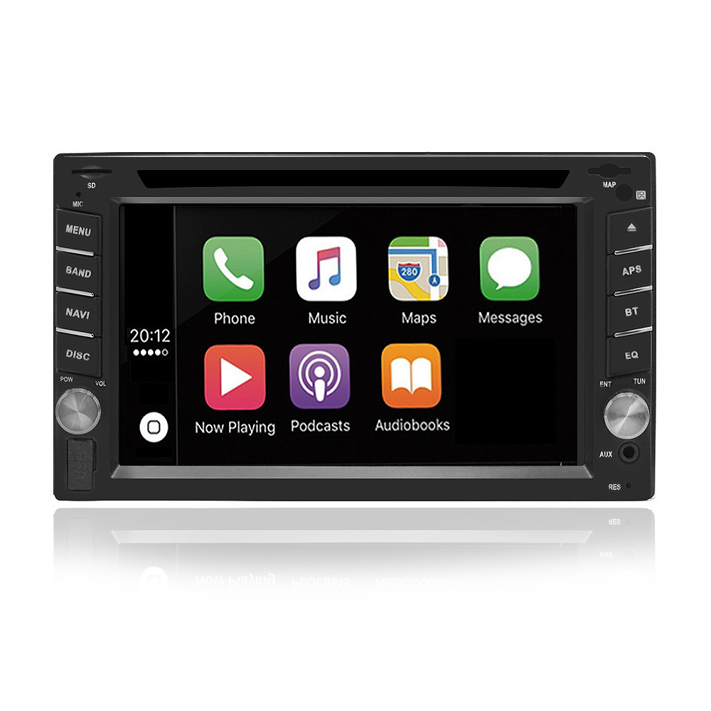 6.2 Inch 2 Din HD Car DVD Player Radio Stereo WinCE bluetooth Ca