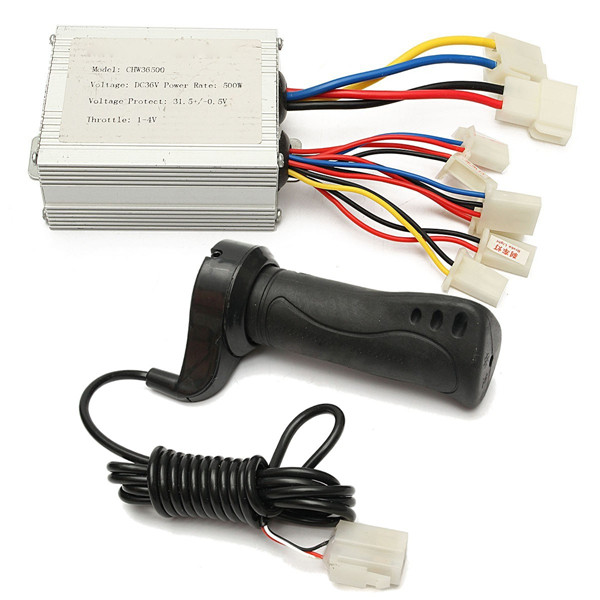 36V 500W Motorcycle Brush Speed Controller & Electric Bike Scoot