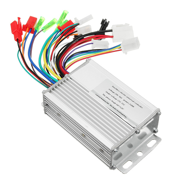 24V 250W Brushless Motor Electric Speed Controller Box for E-bik