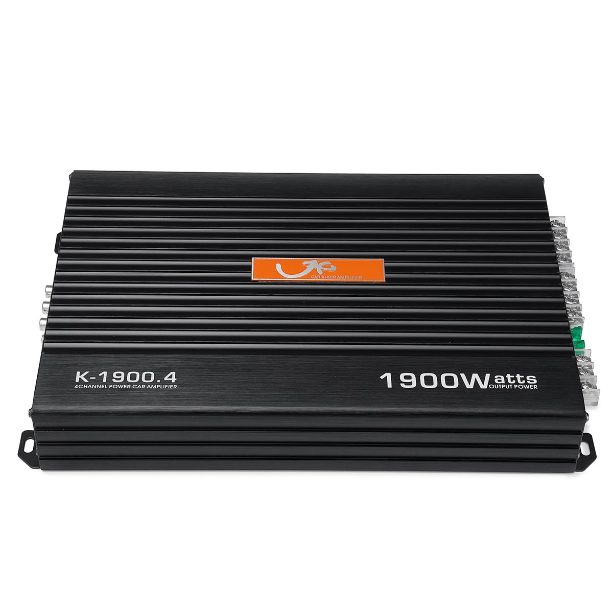 1900W Car Power Amplifier Bass RCA Level